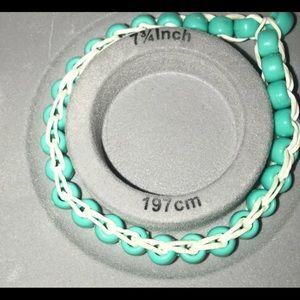 Jewelry - blue vsco bracelet/anklet